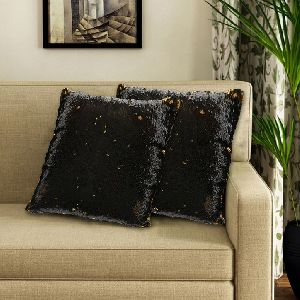 Double Shaded Sequin Cushion Cover & Filler 01